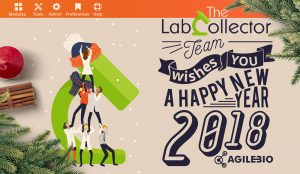 Read more about the article Season's Greetings From LabCollector!