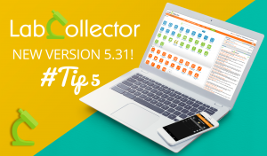 Read more about the article LabCollector v5.31 Tip5