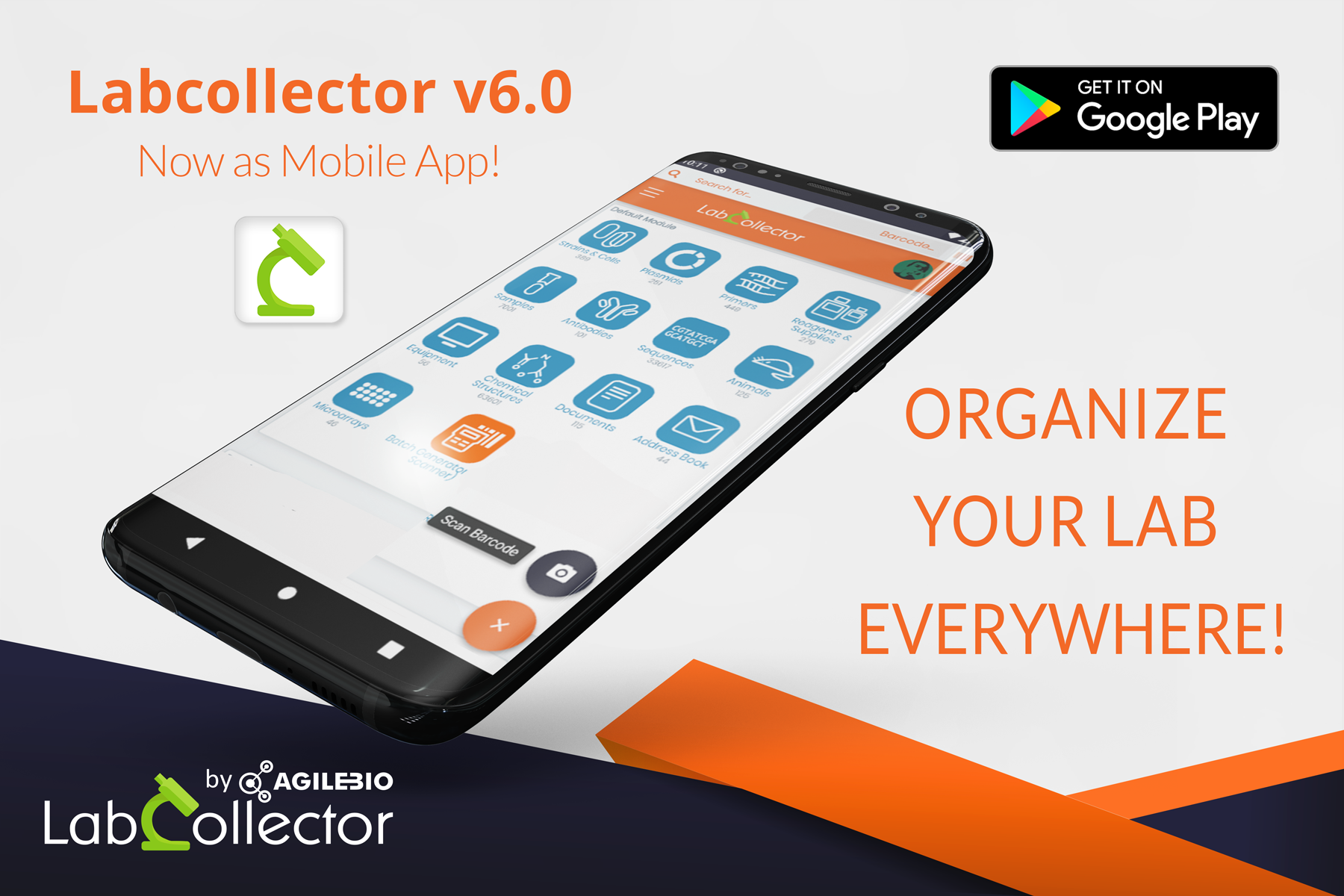 Read more about the article Lab Management with LabCollector Mobile App