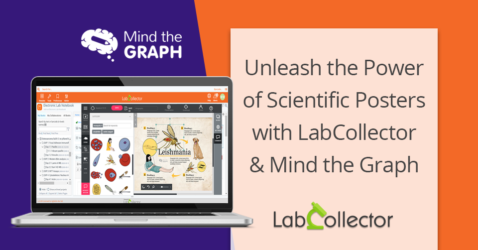 You are currently viewing Unleash the power of scientific posters with LabCollector and Mind the Graph!