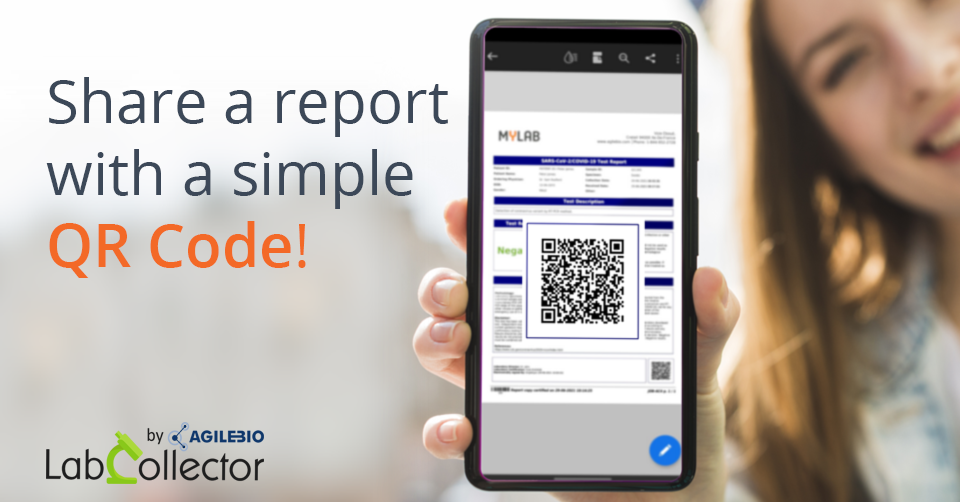 Read more about the article Share a report easily with a simple QR Code!