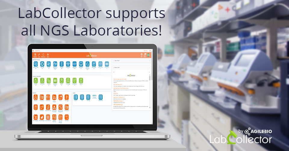 You are currently viewing LabCollector LIMS supports all NGS Laboratories!